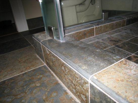 Home Depot Bullnose Black Glazed Ceramic Tile Edging